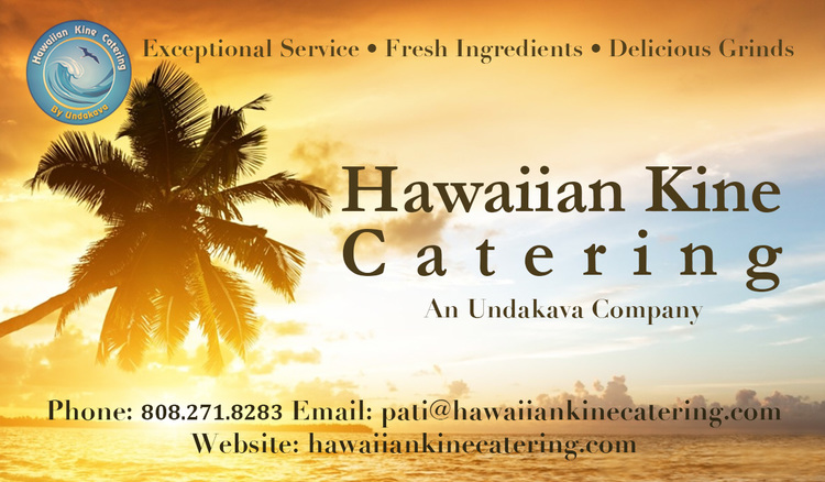Sample business cards for catering services gallery card design portfolio hawaii service providers catering company business card reheart gallery reheart Image collections