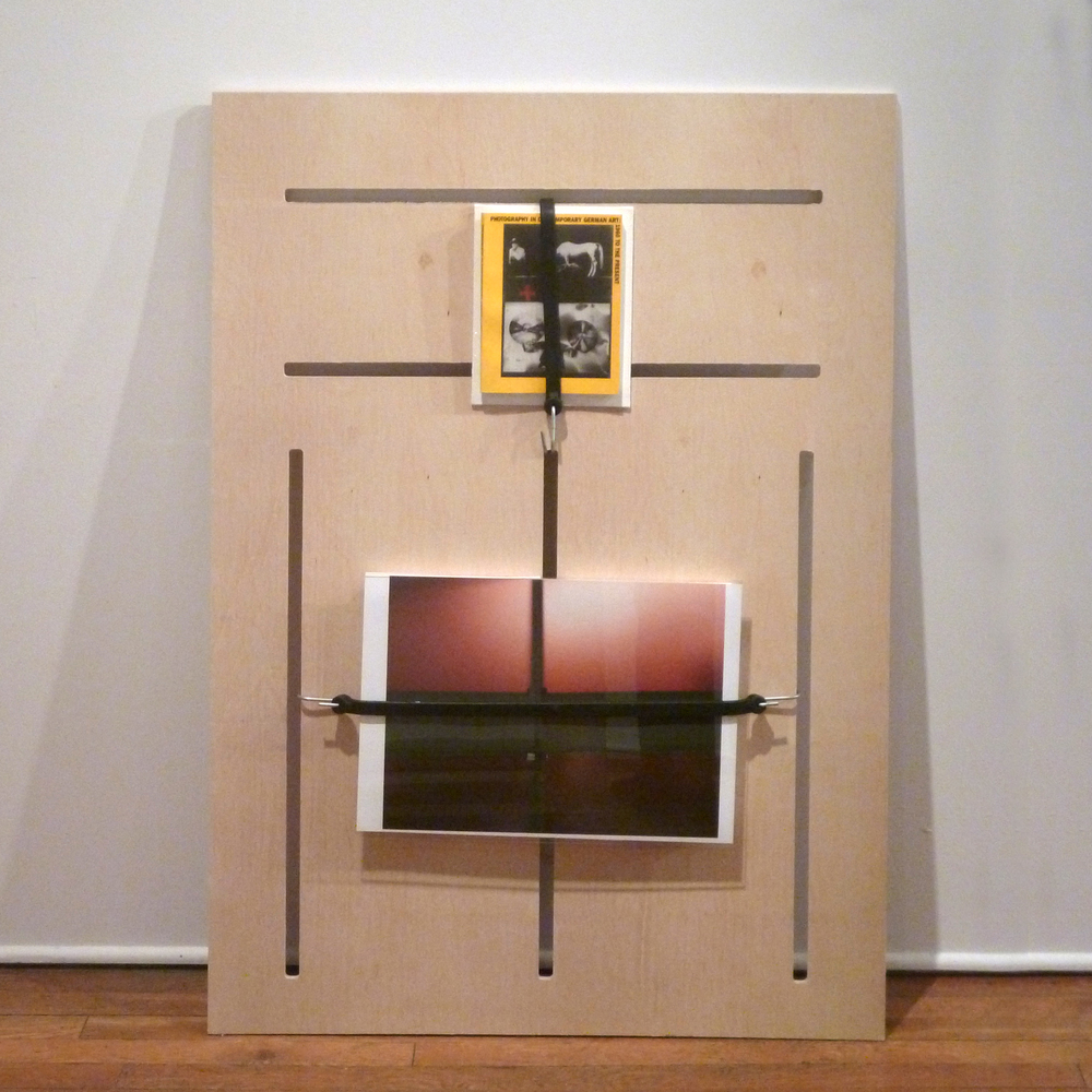 ' NSEW ' (2012)  Busta Gallery. Cleveland,Ohio  Plywood, Mixed Media. 121 x 88cm