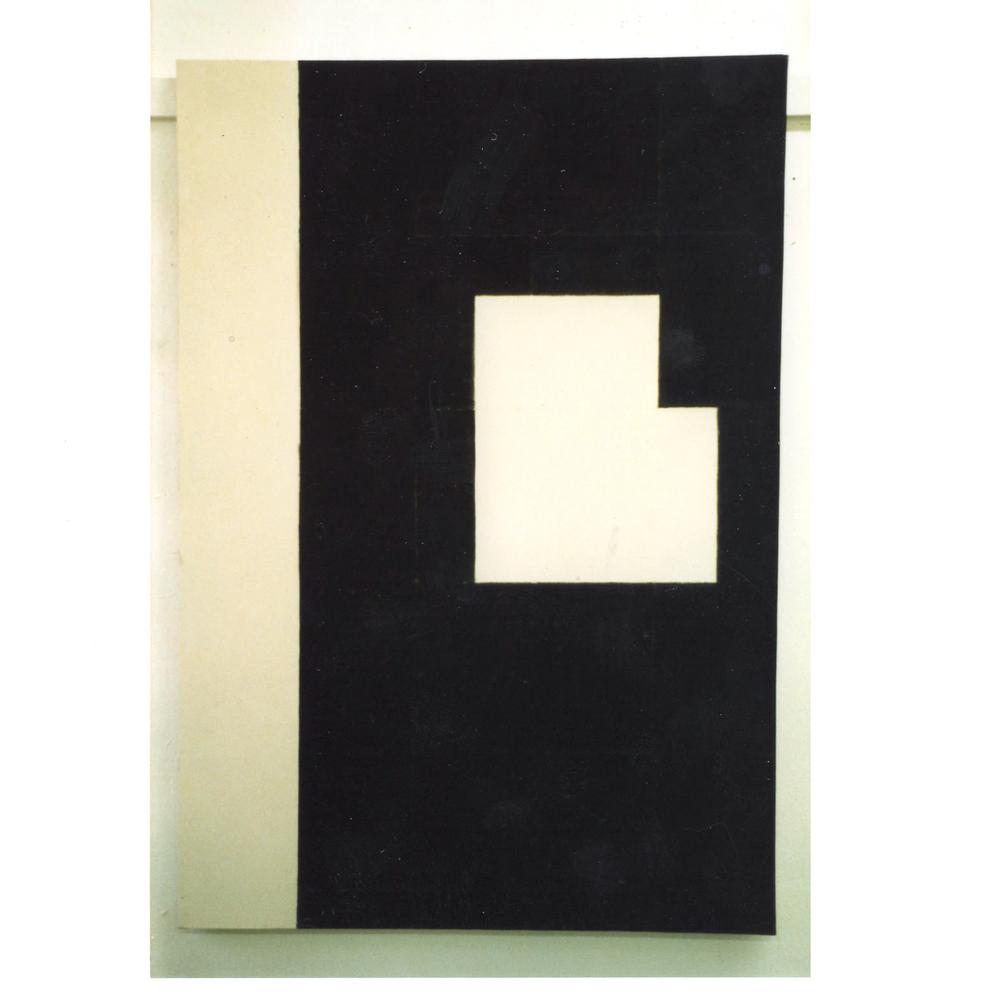 145/ 100 2/2 -3 - (1986)  Acrylic On Canvas 145 x 100 cm