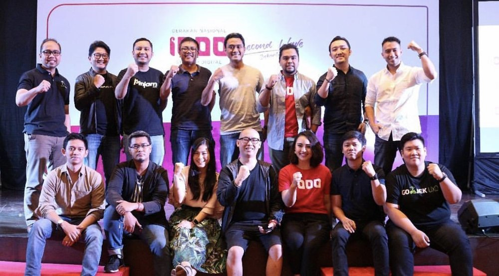 With the other amazing leaders of Indonesia's startup ecosystem