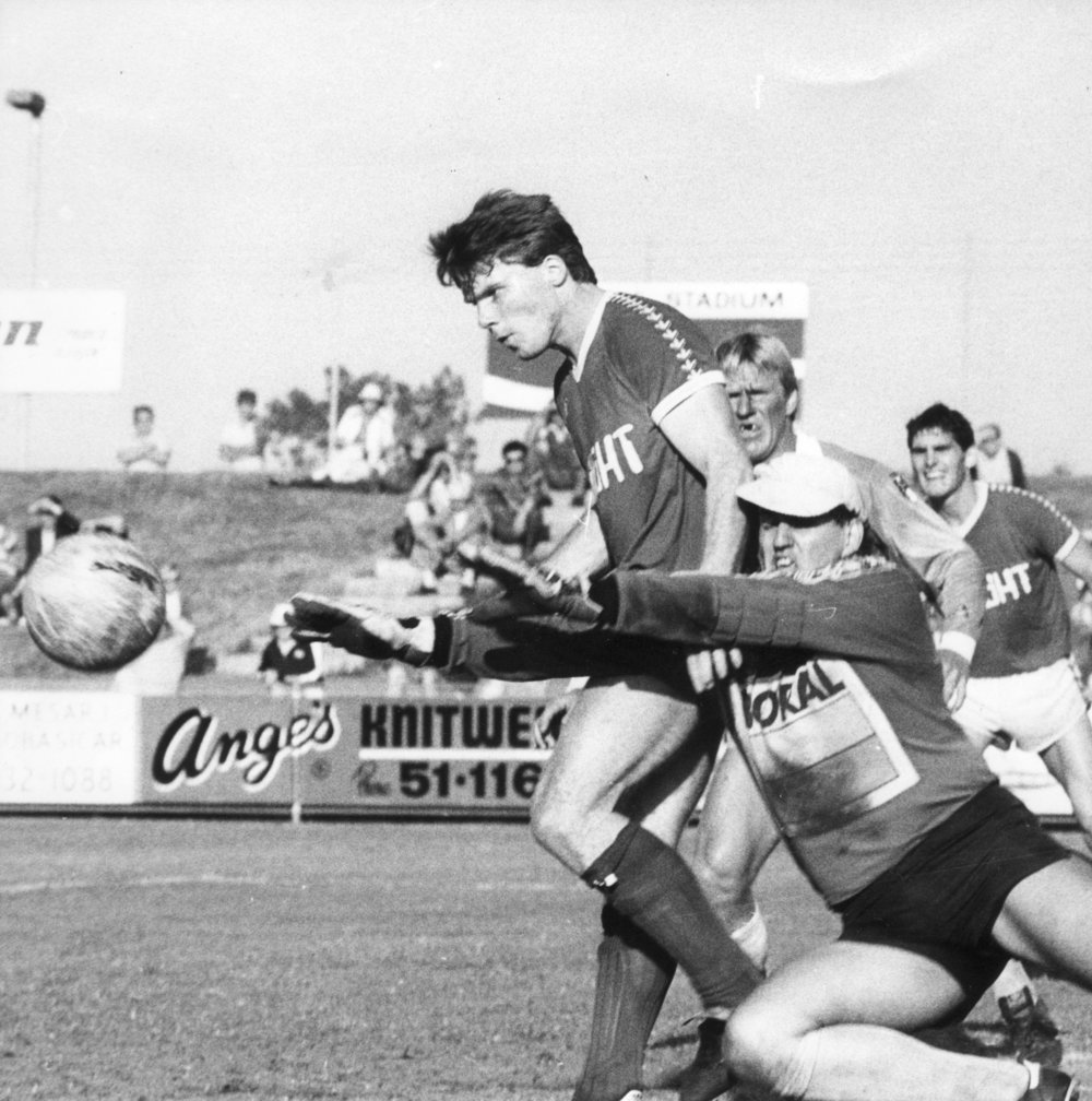 Robbie Slater Vs Brisbane City 1983