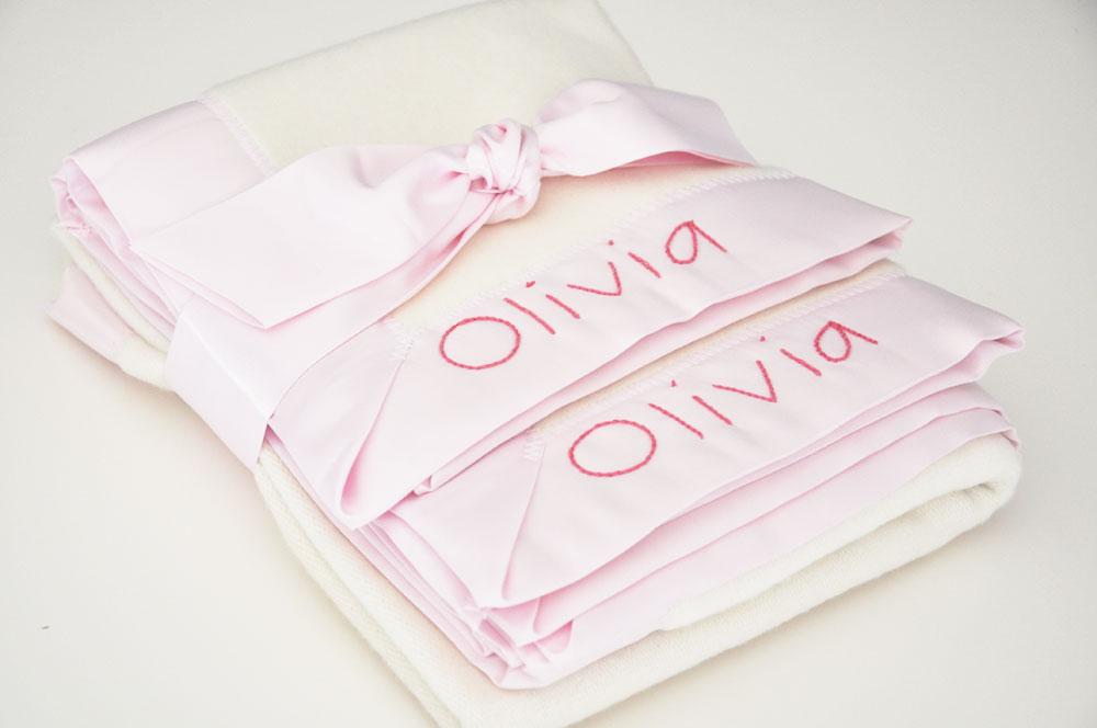 Light Pink Blanket Gift Set