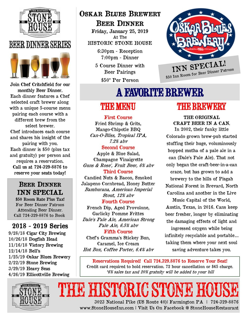 Oskar Blues Beer Dinner 012519.jpg