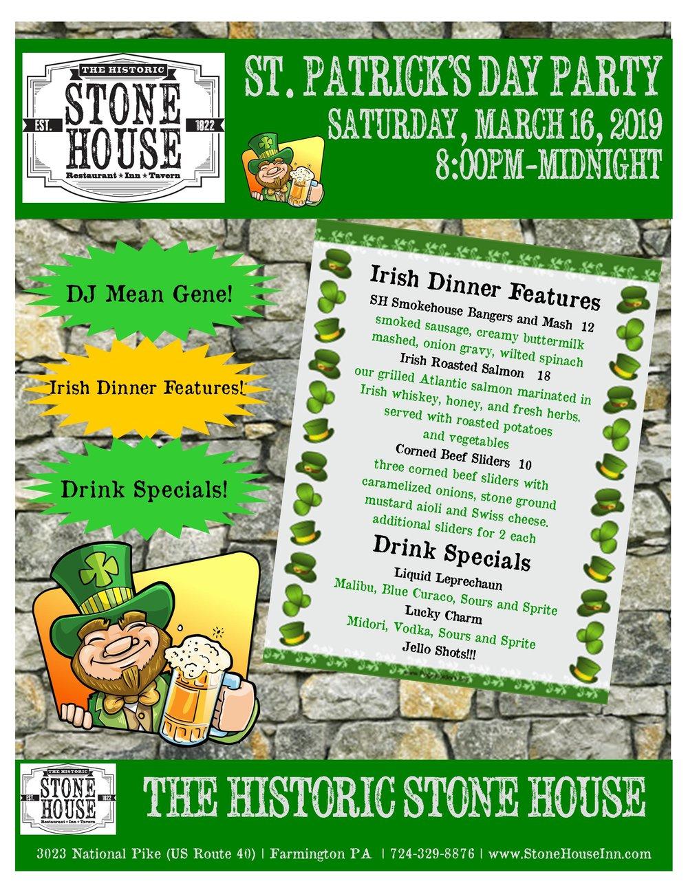 Stone House St Patrick's Day 2019.jpg