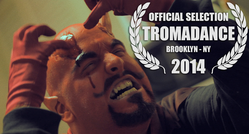 """STROKE OF THE DEVIL!"" - Official Selection of the 15th Annual TromaDance Film Festival in Brooklyn, New York - 06.27.14"