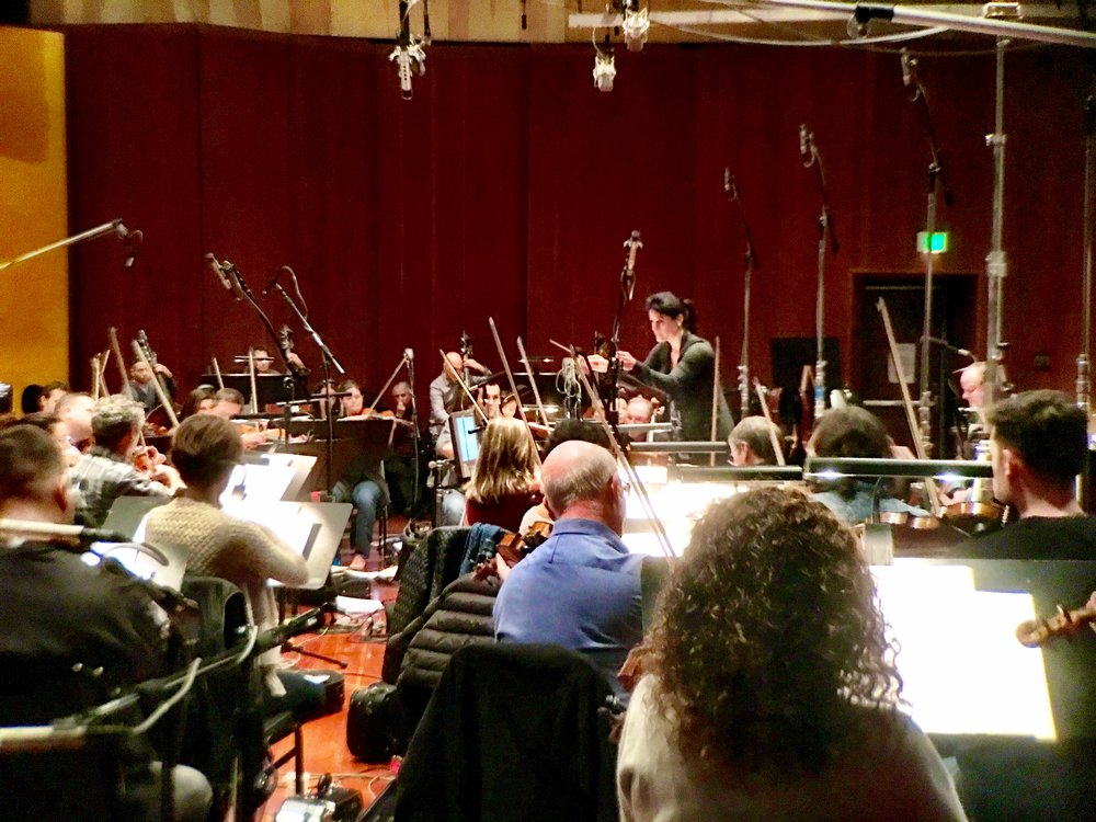 "Recording ""The Bride"" at Warner Brother Eastwood Scoring Stage (LAFCI, 2017)"