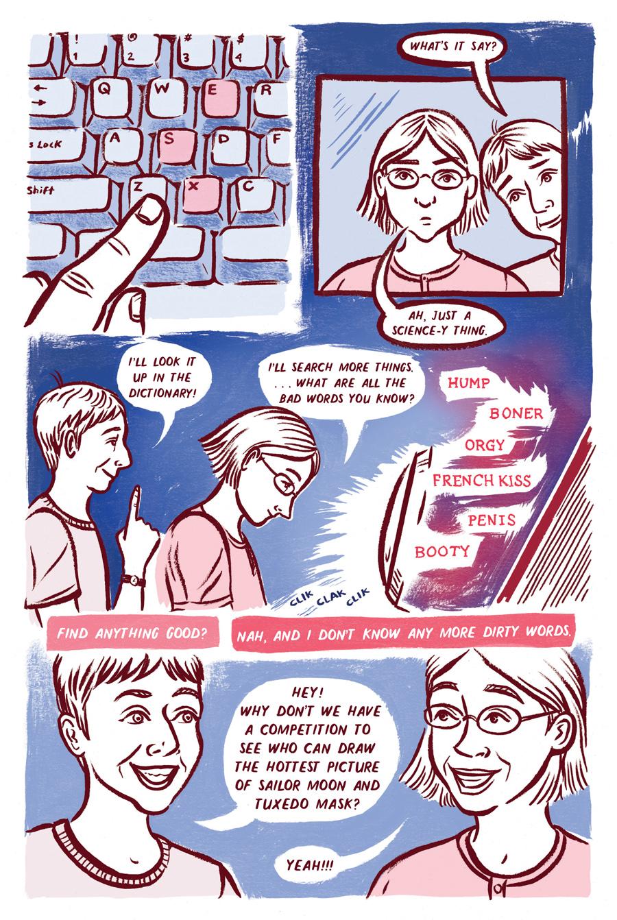 Waxing Moon, Page 3