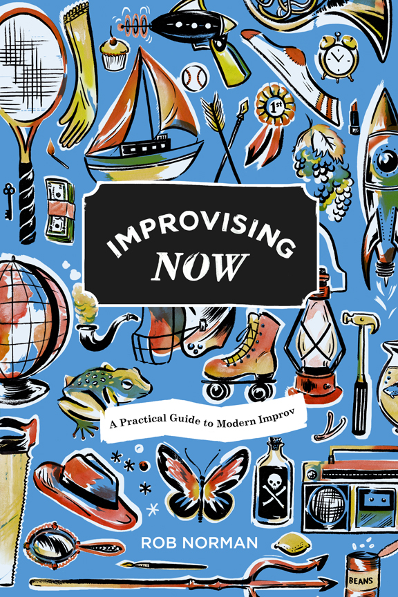 Improvising Now book cover