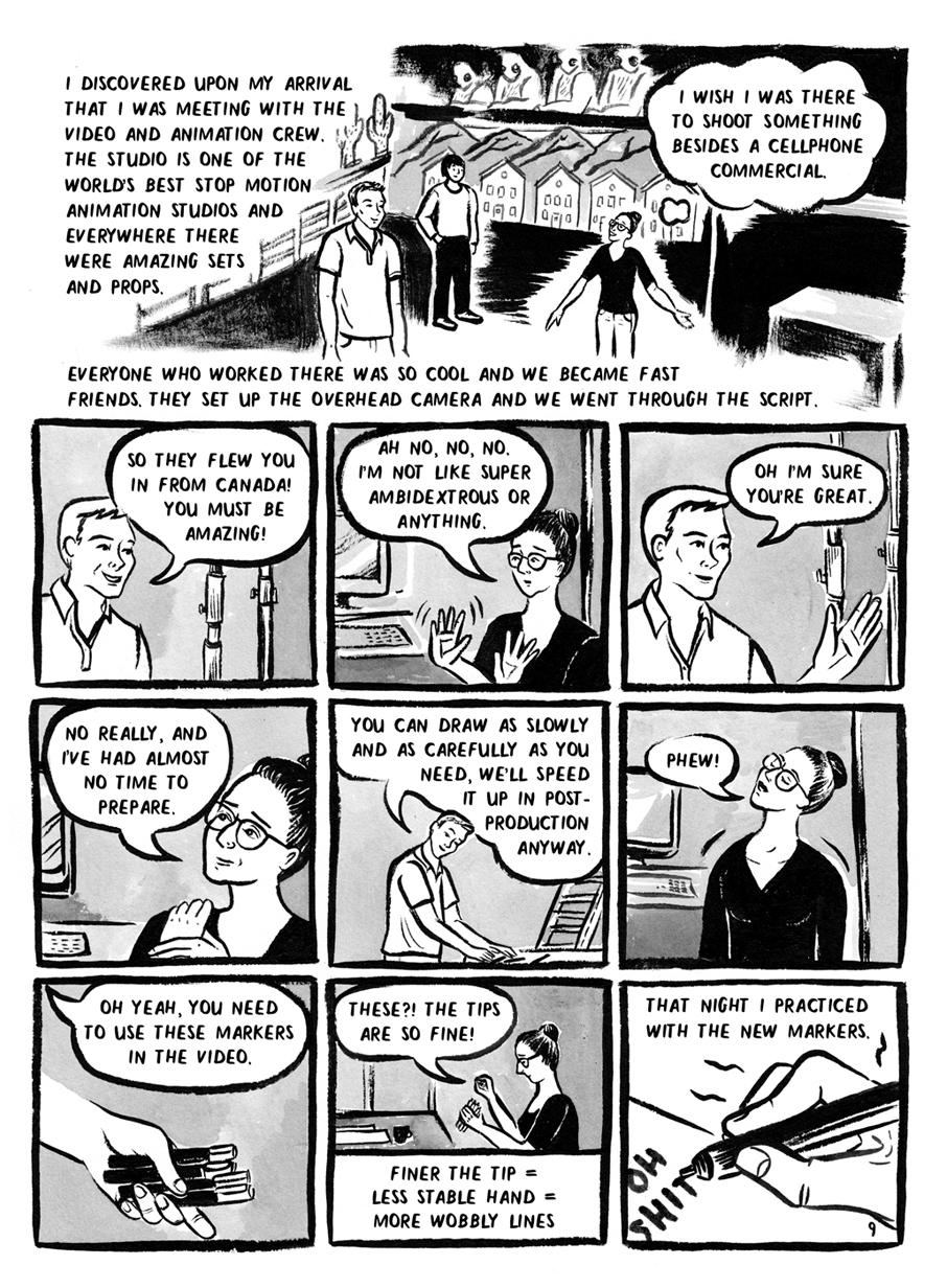 Thea Alba, Page 9