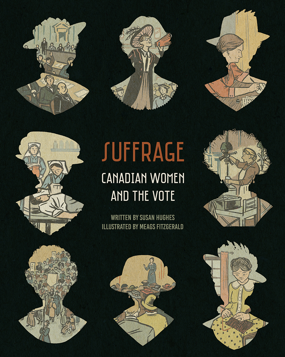 Suffrage, book cover