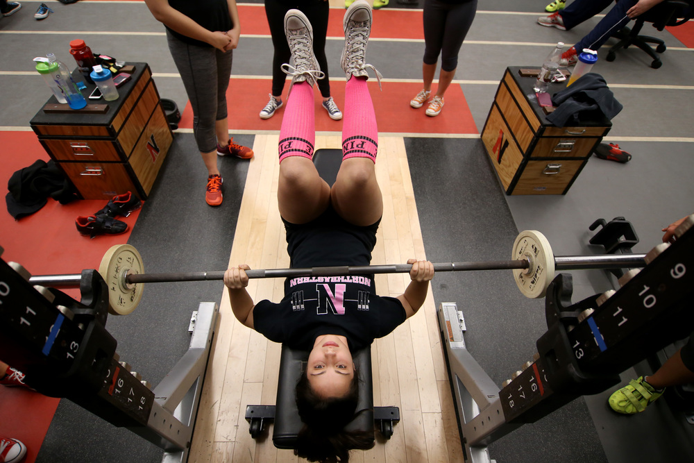 NU Powerlifting, Boston, MA, 2014.