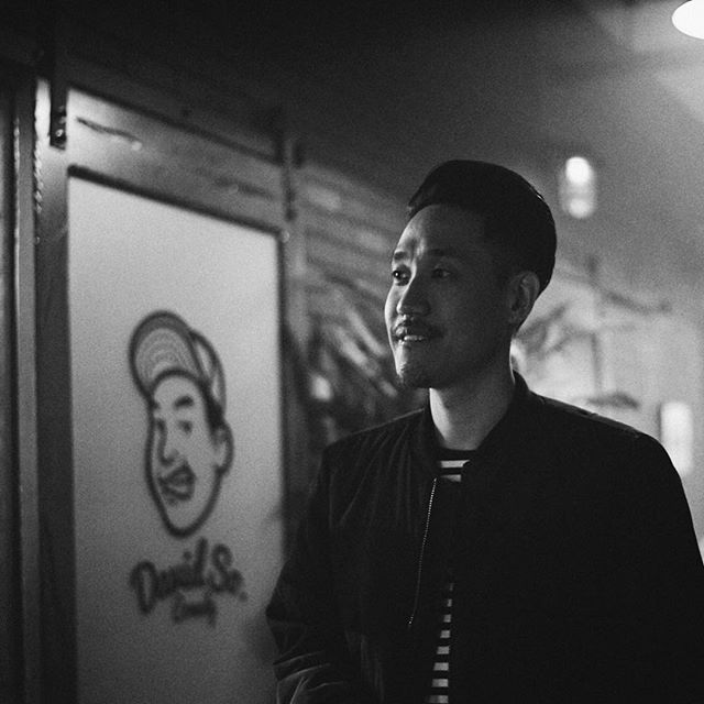 we recently introduced a capsule collection collab between @scrtsocietylife x @davidsocomedy at our first pop-up shop. why am i smiling here? cuz we got something more in the works and will tell you about it real soon.
