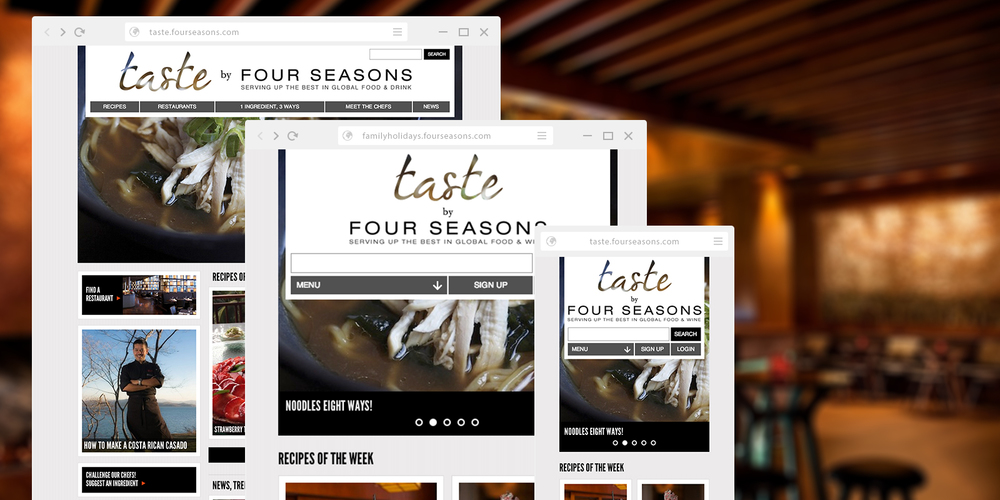 Taste by Four Seasons