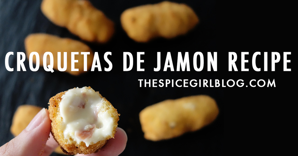 Croquetas De Jamon Recipe | The Spice Girl Blog