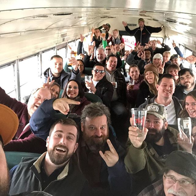 Tour of Milwaukee!!! Thanks for coming out! Thanks @revbrewchicago