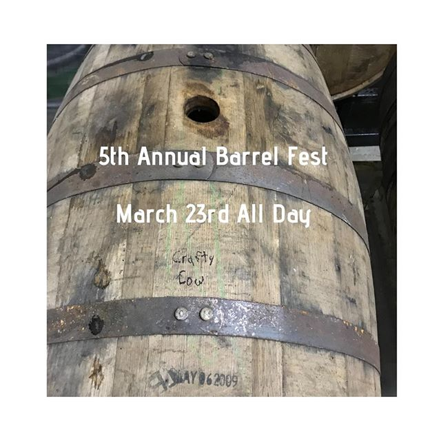 Hey Oconomowoc,  Who is ready for barrel fest? Here is part of the lineup we will be having for the event! In addition to the awesome beers we will be pouring we will be having some amazing food as well! Smoked chicken and pulled pork dinners smoked with a broken down barrel used to age mystic knot!  Third Space Brewing Mystic Knot 2018 Ale Asylum Wortlord Solemn Oath Brewery Barrel Aged Goldmund Revolution Brewing Bossway Founders Brewing Co. CBS Good City Brewing 2017 Density 3 Sheeps Brewing Company Veneration Odell Brewing Co Whiskey Barrel Aged Lugene Third Space Brewing Nexas of the Universe Indeed Brewing Company Barrel Aged LSD Goose Island Brewery Bourbon County 2016 Fair State Brewing Cooperative BFDP Central Waters Brewing Company Rye Chocolate Porter