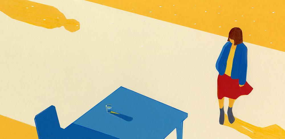 松室政哉 2ndEP「きっと愛は不公平」カバーイラスト