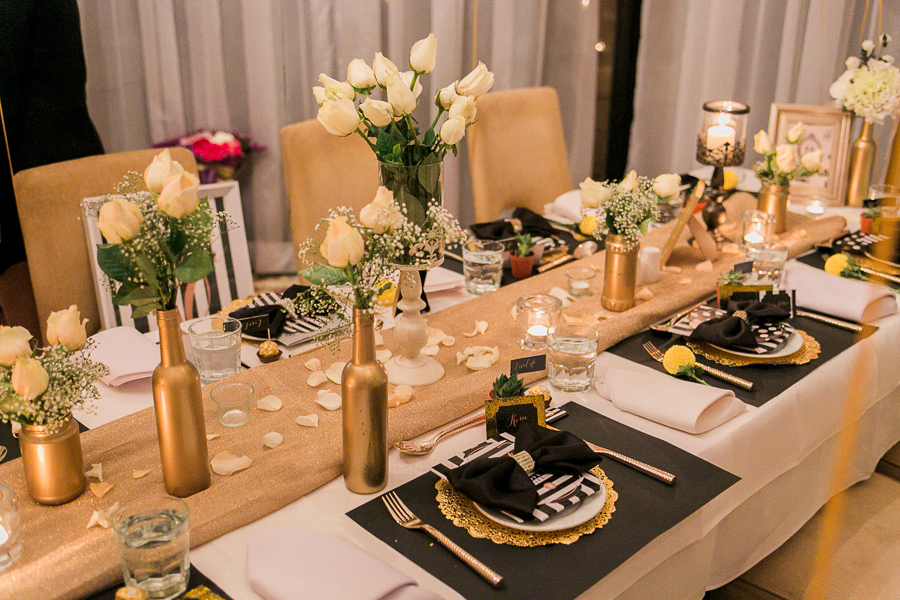 table spread birthday decor photography