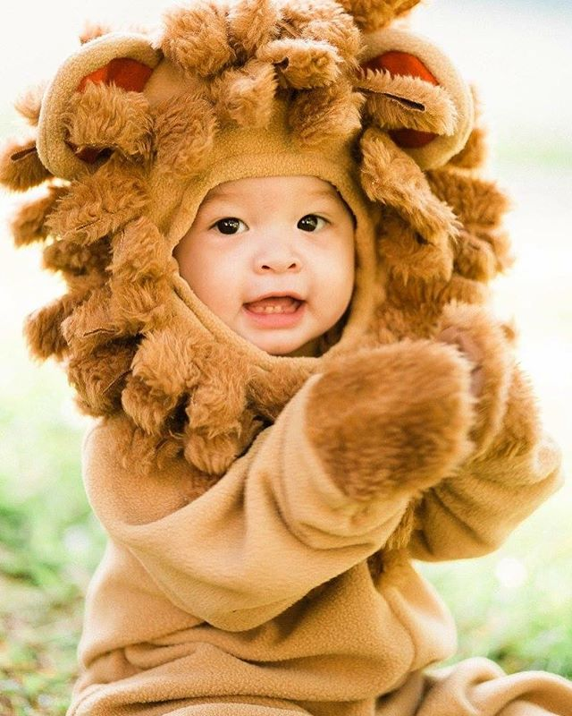 Look at this harmless little lion ✨ #cute #lionking #halloweencostume #cutebaby #babystyle #childphotography #babyphotography