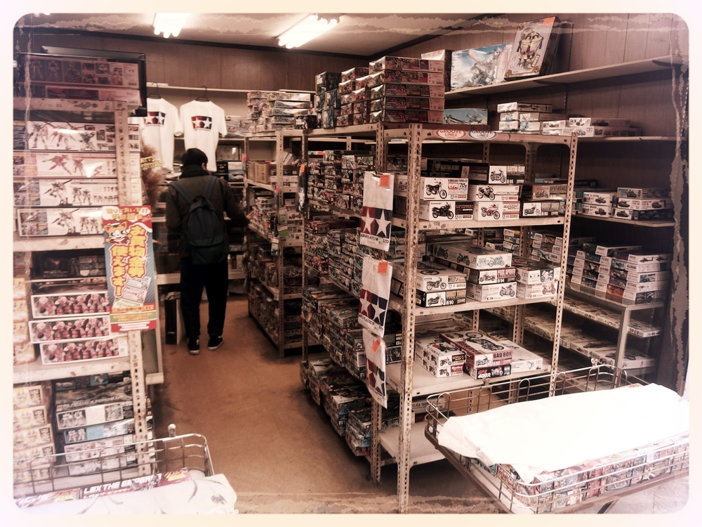 A Shop Dedicated to Model Planes, Tanks, Bikes, Cars and Many Other Things