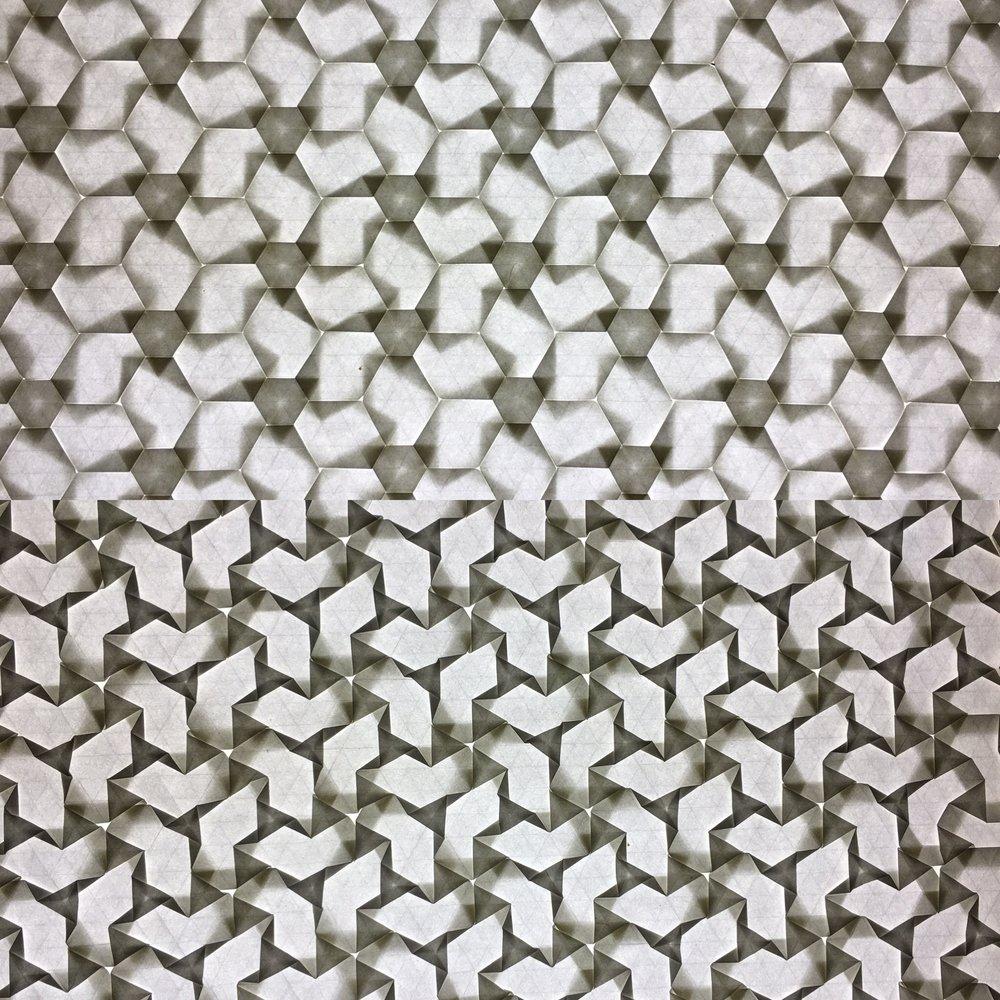 Cubes and Pinwheels