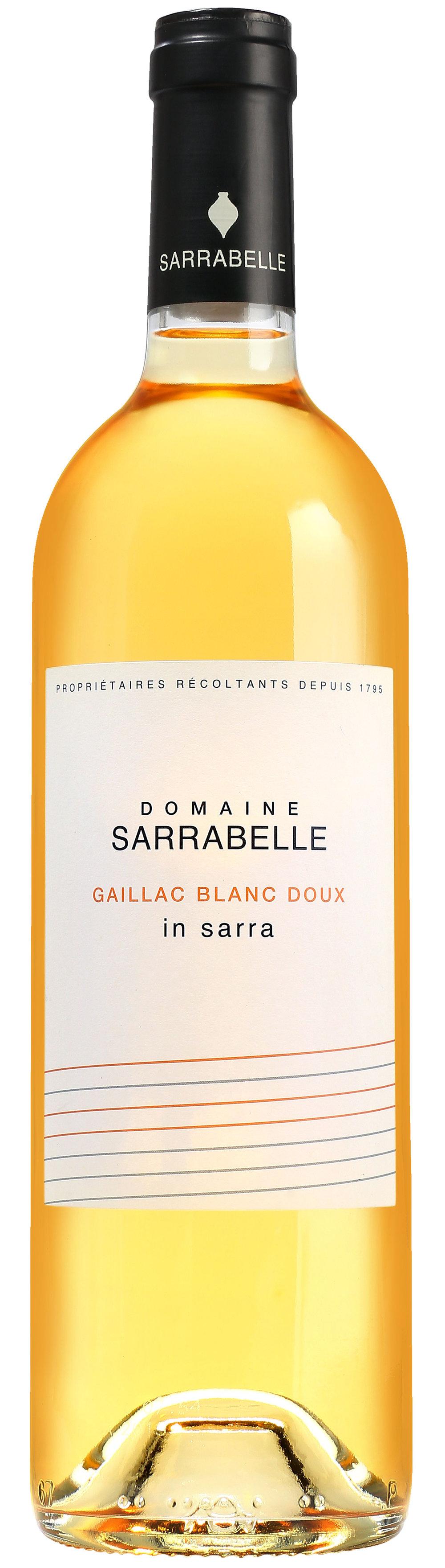 传统甜白 2015 Gaillac Sweet White 2015 35% Mauzac 35 % Loin de l'oeil 30 % Muscadelle