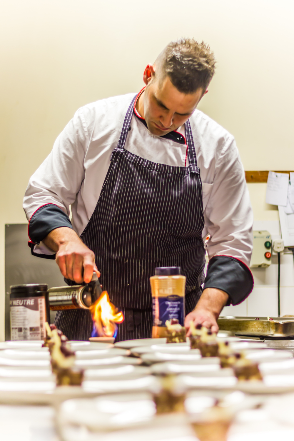 Head chef at Seasons Restaurant, Tobias   Streinetberger