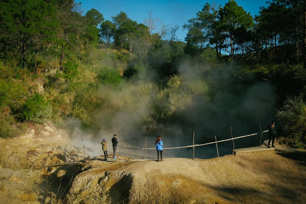 Badekbek Sulfur Spring, Benguet