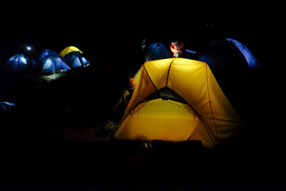 Babadak Ranger Station campsite