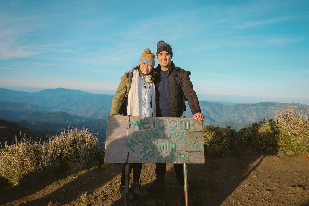 Mount Pulag Camille and Mike