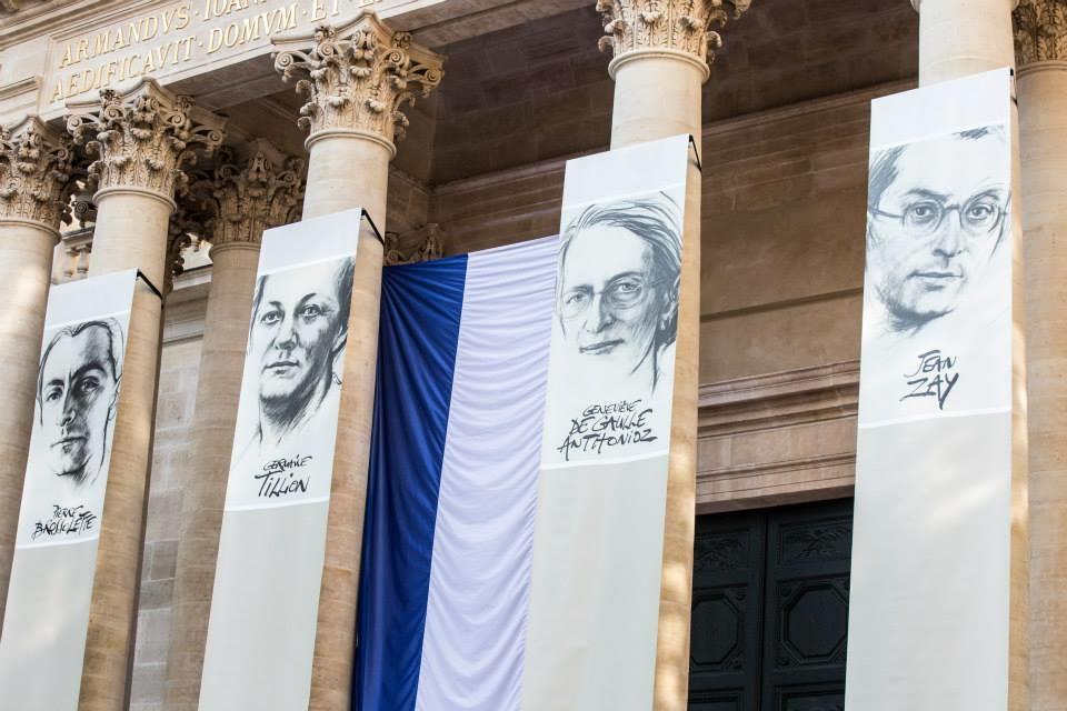 La cérémonie au Panthéon le 27 mai 2015 Photos: crédits Sénat