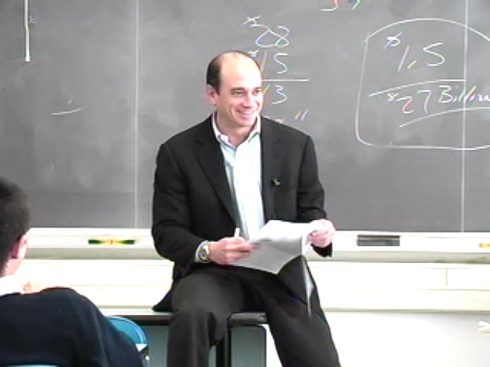 Joel Greenblatt at columbia university