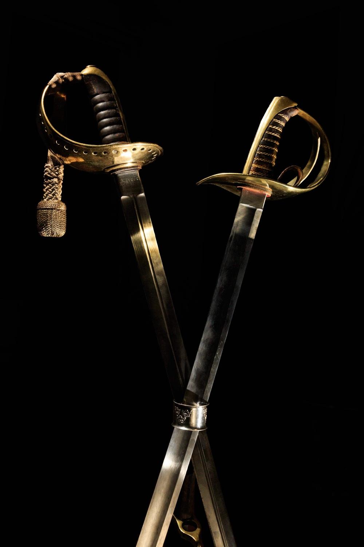 Swedish sabers.