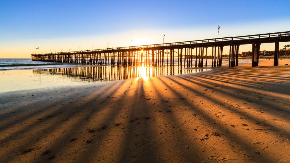 Venture Pier, CA.