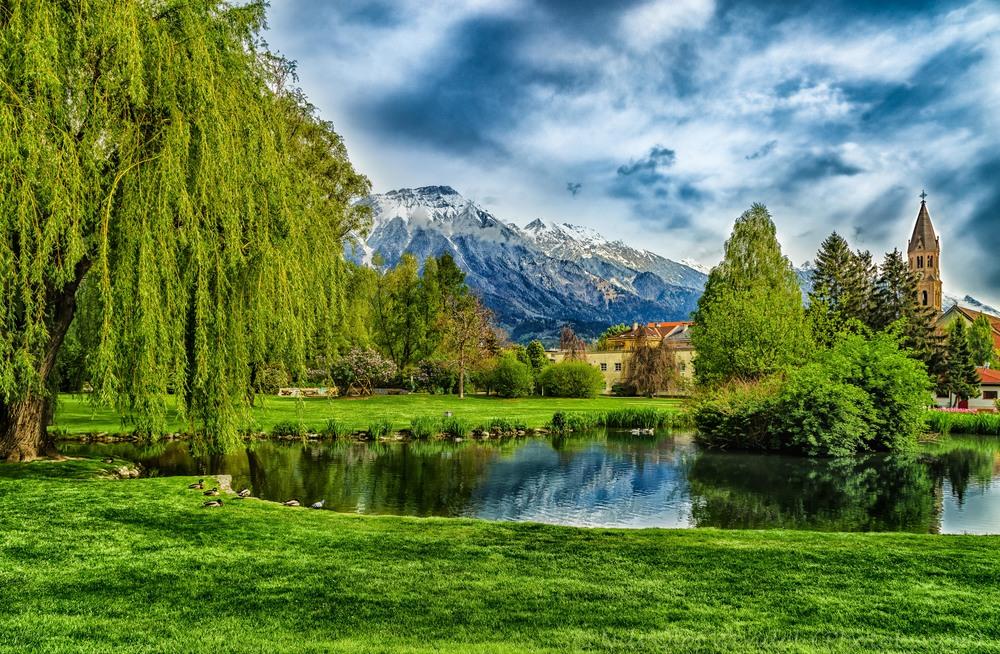 HDR Park in Innsbruck.