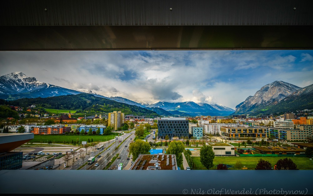 Innsbruck naturally framed.
