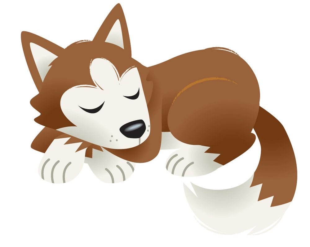 Husky Puppy Sleeping.jpg
