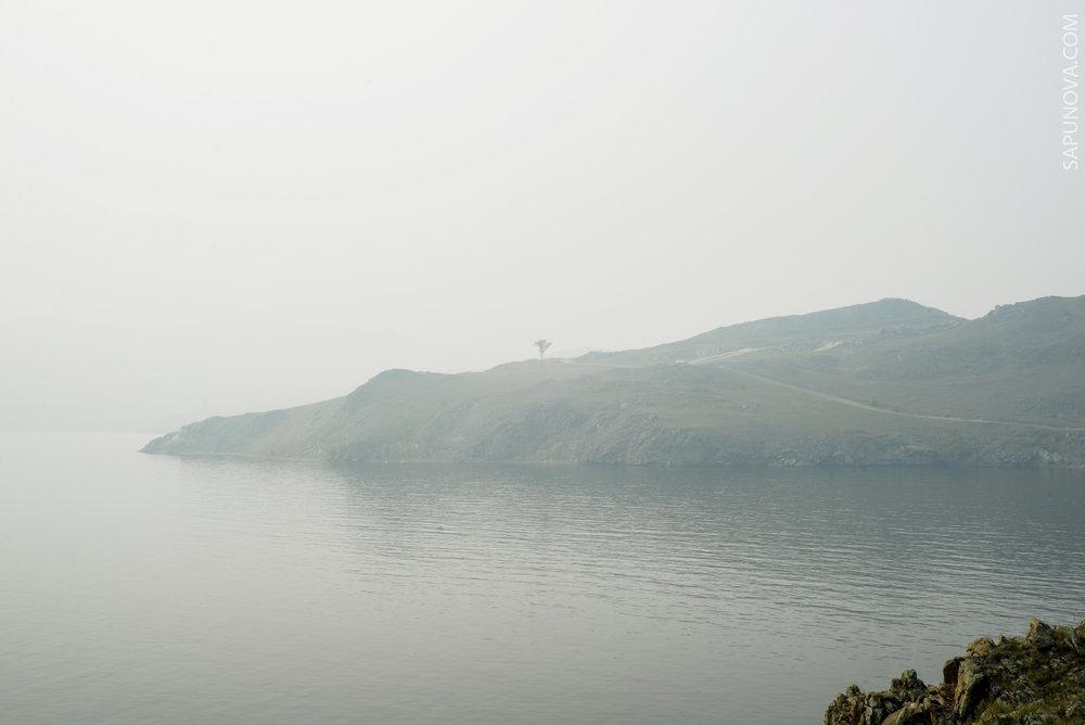 Дым от пожаров на Малом море