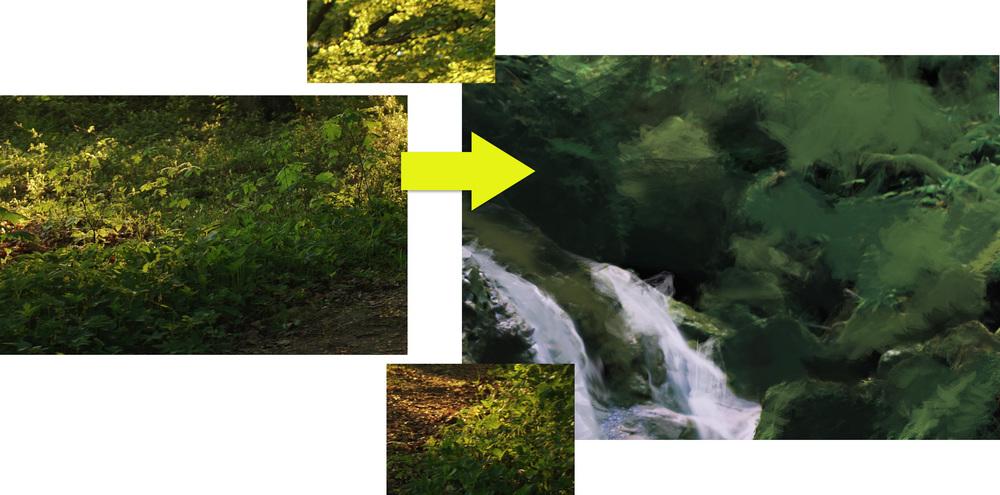 Digital Painting/Photo-Bashing