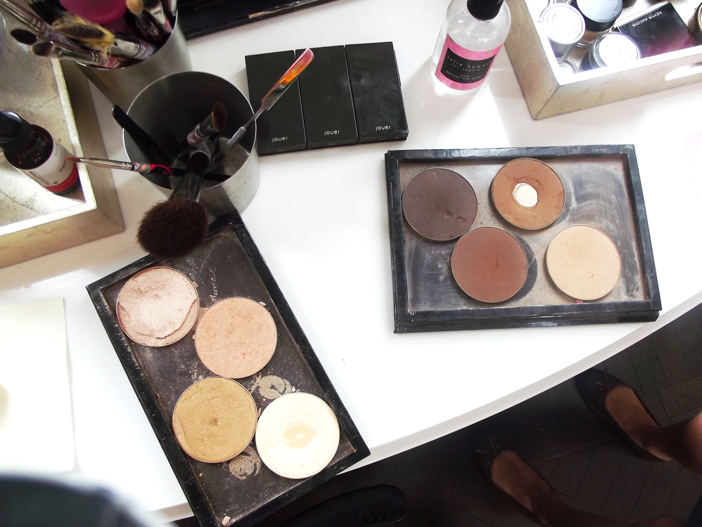 Makeup time! Blushington uses a ton of Jouer and Stila -- both are great prestige brands for fresh makeup looks.