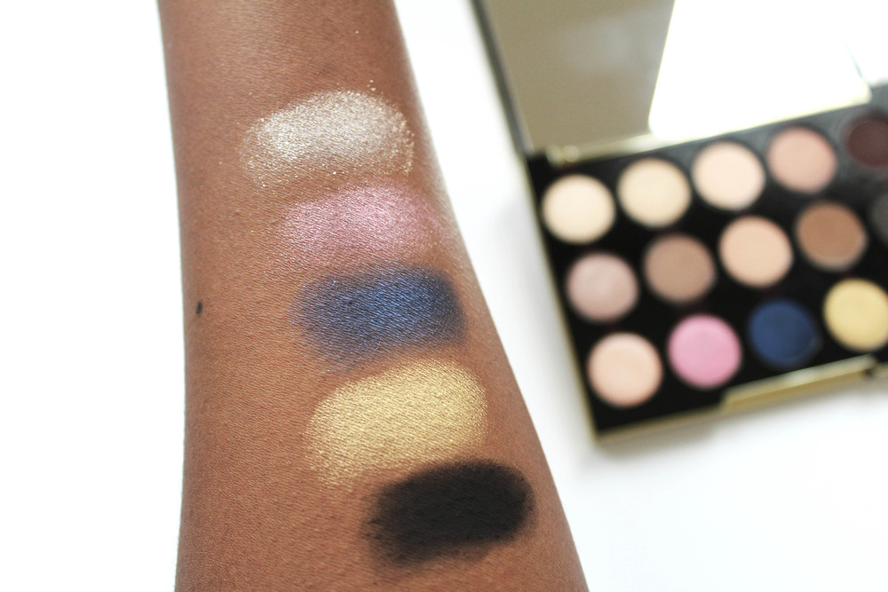 Swatches (row 3; top to bottom): Pop, Harajuku, Danger, 1987, Blackout