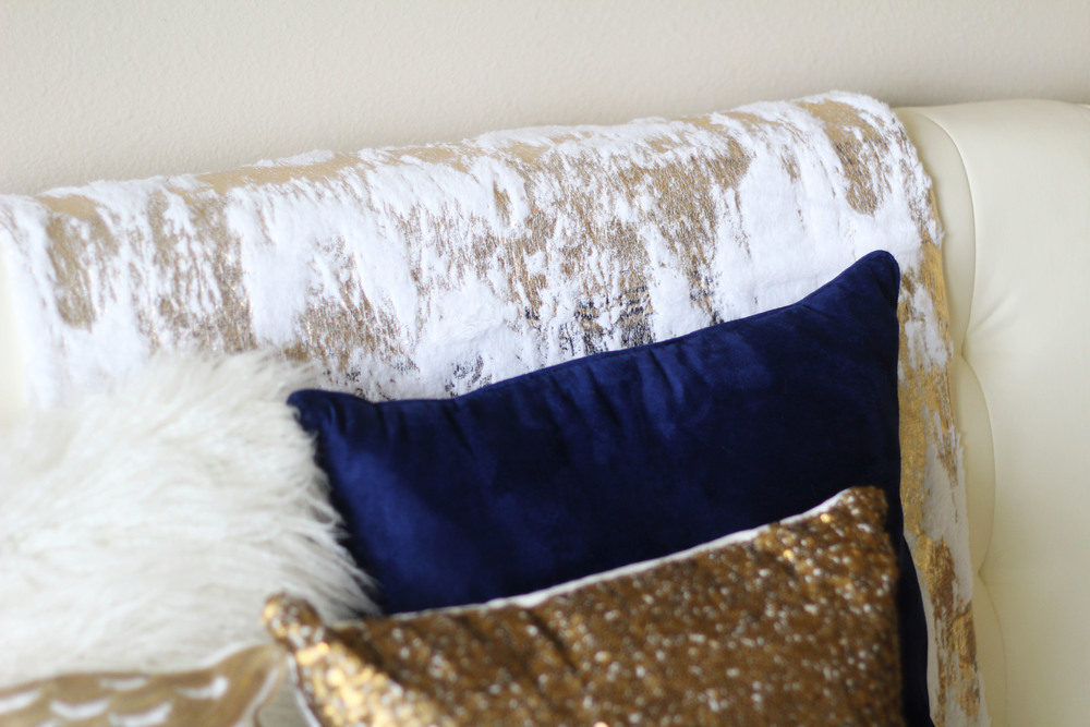 Decorative Fur Throw ($29.99)