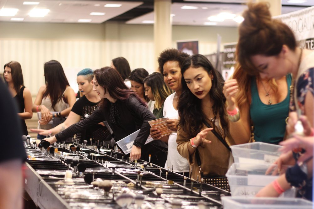 Crown Brush at The Makeup Show