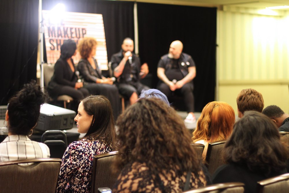 Panel at The Makeup Show Dallas