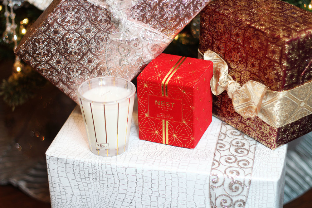 8.1 fl oz NEST Fragrances Holiday Collection Candle ($40) from Neiman Marcus