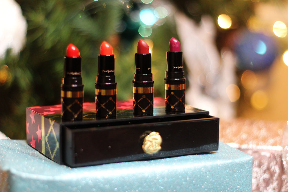 Nutcracker Sweet Red Mini Lipstick Kit (now $26.25)