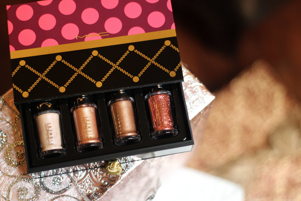 Sweet Bronze Pigments & Glitter Kit (now $26.25)