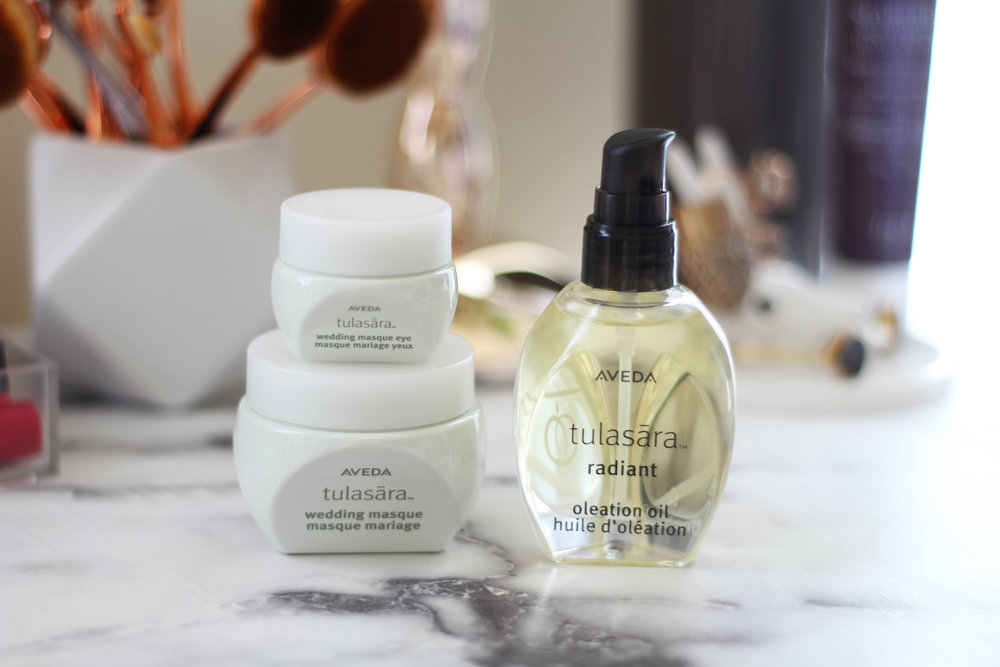 Tulasāra Wedding Masque for face and eye & Radiant Oleation Oil