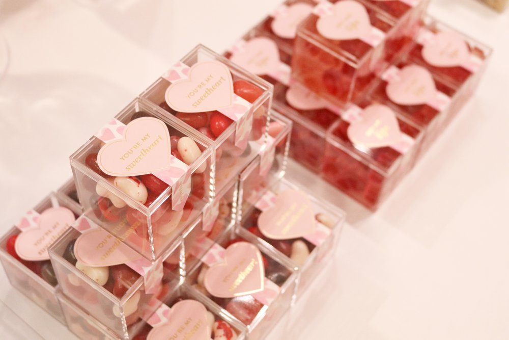 Some of the boxed candies for special events and occasions have cute, thoughtful little messages on them!