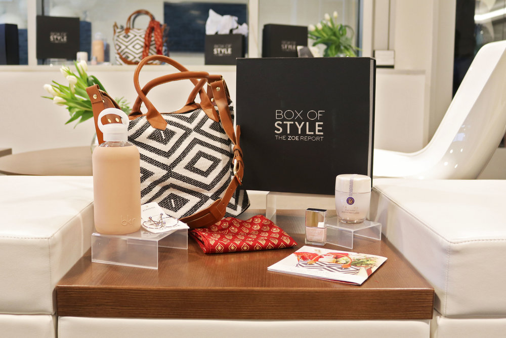 This season's Box of Style curated by Rachel Zoe and The Zoe Report editors includes style, beauty, and lifestyle goodies from brands such as Tatcha, Butter London, and ethical fashion brand, Symbology.